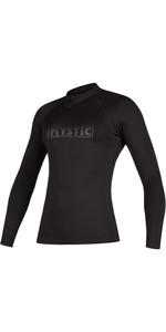 2020 Mystic Womens Star Long Sleeve Rash Vest 200154 - Black