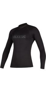 2020 Mystic Womens Star Long Sleeve Rash Vest 200154 - Black