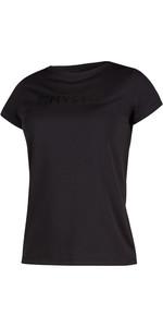 2020 Mystic Womens Star Short Sleeve Rash Vest 200151 - Black