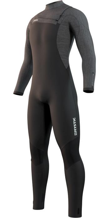 2021 Mystic Mens Majestic 4/3mm Front Zip Wetsuit 210057 - Black