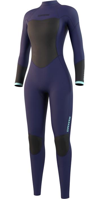2021 Mystic Womens Star 5/3mm Back Zip Wetsuit 210317 - Night Blue