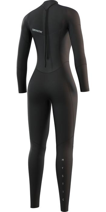 2021 Mystic Womens Star 3/2mm Back Zip Wetsuit 210318 - Black