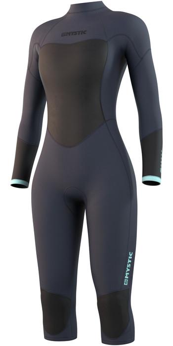 2021 Mystic Womens Brand 3/2mm Short Leg Wetsuit 21032 - Night Blue