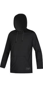 2021 Mystic Mens Chiller Hooded Rash Vest 210145 - Black