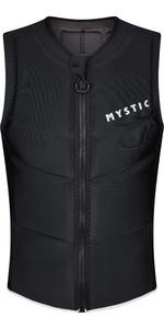 2021 Mystic Mens Star Front Zip Impact Vest 210122 - Black