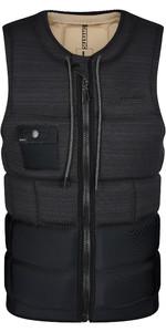 2021 Mystic Mens Outlaw Front Zip Wake Impact Vest 210156 - Black
