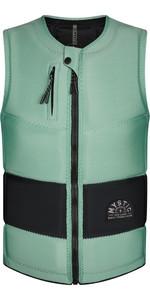 2021 Mystic Mens Stone CE Timo Kapl Front Zip Impact Vest 210157 - Sea Salt Green