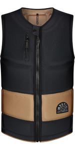 2021 Mystic Mens Stone CE Timo Kapl Front Zip Impact Vest 210157 - Black