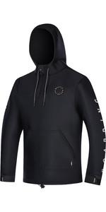 2021 Mystic The One Sweat 4mm Neoprene Hoodie 210129 - Black