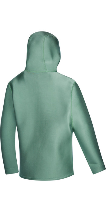 2021 Mystic Star Sweat 2mm Neoprene Hoodie 210131 - Sea Salt Green