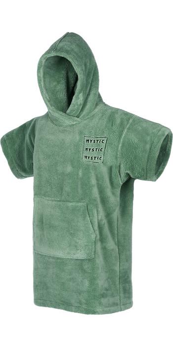 2021 Mystic Junior Teddy Change Robe / Poncho 210135 - Sea Salt Green