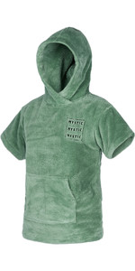 2021 Mystic Kids Teddy Change Robe / Poncho 210136 - Sea Salt Green