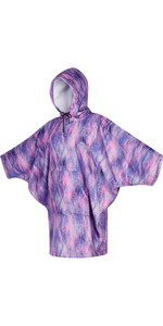 2021 Mystic Womens Change Robe / Poncho 210137 - Black / Purple