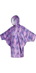 2021 Mystic Womens Change Robe / Poncho 210137 - Black / Purple