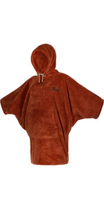 2021 Mystic Womens Teddy Change Robe / Poncho 21034 - Rusty Red