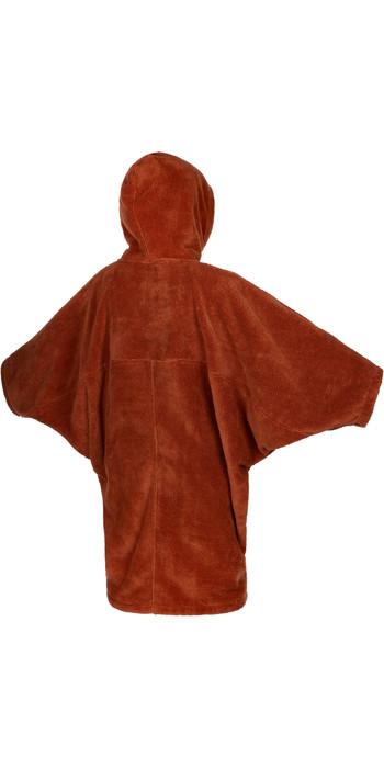 2021 Mystic Womens Teddy Change Robe / Poncho 21034 - Rusty Red