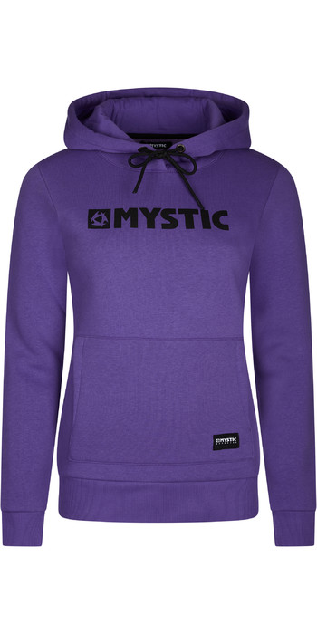 2021 Mystic Womens Brand Hoodie 210033 - Purple