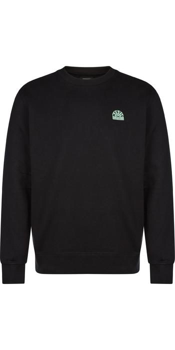 2021 Mystic Mens Lowe Sweatshirt 210206 - Black