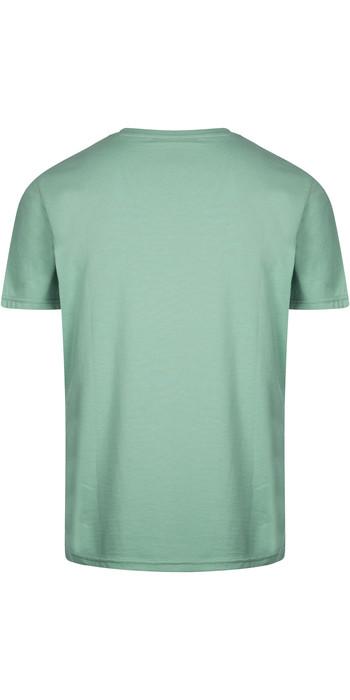 2021 Mystic Mens Brand T-Shirt 190015 - Seasalt Green
