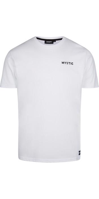 2021 Mystic Mens Sundowner T-Shirt 210219 - White
