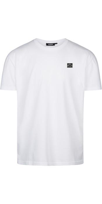 2021 Mystic Mens Lowe T-Shirt 210229 - White