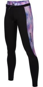 2021 Mystic Womens Diva 2mm Wetsuit Trousers 200076 - Black / Purple