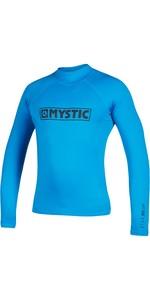 2021 Mystic Star Long Sleeve Rash Vest 180112 - Blue
