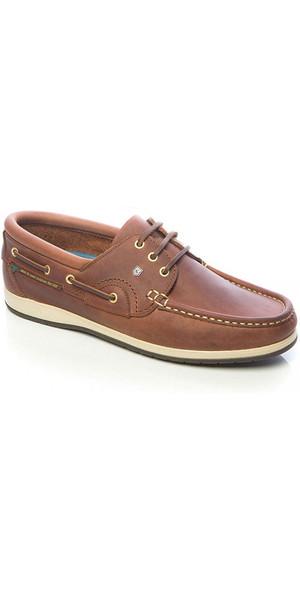 2018 Dubarry Commodore x LT Deck Shoes Chestnut 3723