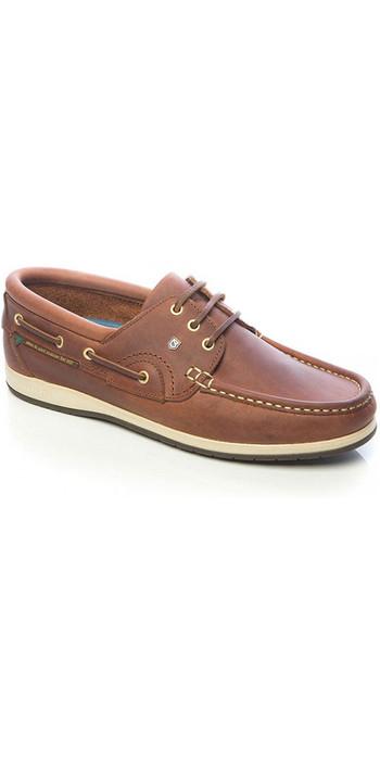 2020 Dubarry Commodore x LT Deck Shoes Chestnut 3723