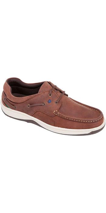 2020 Dubarry Navigator Deck Shoes Chestnut 3730