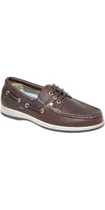 2020 Dubarry Mariner Deck Shoes Mahogany 3744