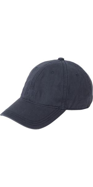2018 Helly Hansen Logo Cap Graphite Blue 38791