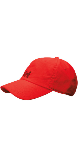 2018 Helly Hansen Logo Cap RED 38791