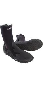 2020 O'Neill 5mm Zipped Dive Boots Black 3999