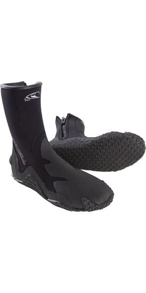2019 O'Neill 5mm Zipped Dive Boots Black 3999