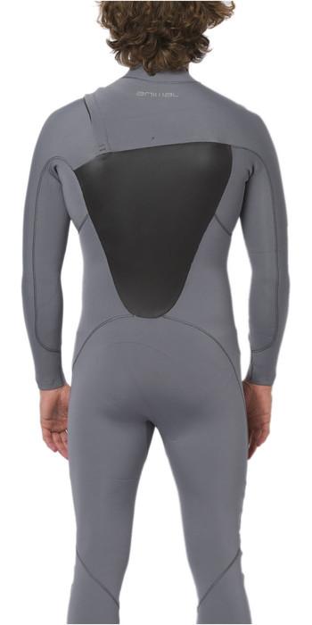 2020 Animal Mens ANML 3/2mm Zip Free Wetsuit AW0SS001 - Grey