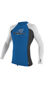 2019 O'Neill Youth Premium Skins Long Sleeve Rash Vest Ocean 4174