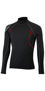 2019 Gill Mens Hydrophobe Long Sleeve Top BLACK 4522