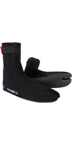 2020 O'Neill Heat Ninja 3mm Split Toe Boot Black 4786