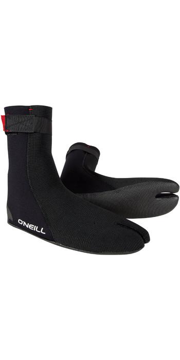 2020 O'Neill Heat Ninja 3mm Split Toe Boot Black 4786