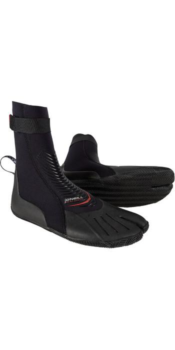 2019 O'Neill Heat 3mm Split Toe Boot Black 4787