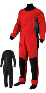 2019 Gill Pro Front Zip Drysuit + FREE UNDERSUIT Red 4802