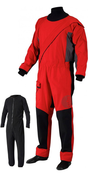 2019 Gill Pro Front Zip Drysuit + FREE UNDERSUIT Red 4802