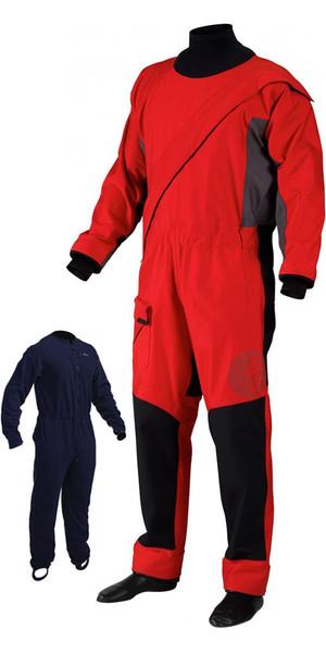 2018 Gill Junior Pro Front Zip Drysuit + UNDERFLEECE Red 4803J