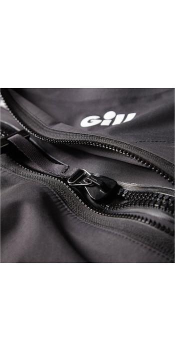 2020 Gill Junior Front Zip Drysuit Black 4804J