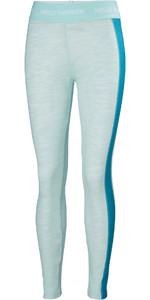 2019 Helly Hansen Womens Lifa Merino Pant Blue tint Melange 48345