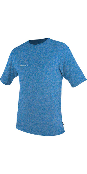 2019 O'Neill Hybrid Short Sleeve Surf Tee Brite Blue 4878