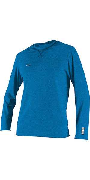2018 O'Neill Hybrid Long Sleeve Surf Tee Brite Blue 4879