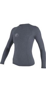 O'Neill Womens Hybrid Long Sleeve Surf Tee Mist 4893