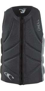 2019 O'Neill Mens Slasher Comp Impact Vest Graphite / Cool Grey 4917EU